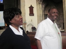 Rev. Nelson and Joyce Johnson speak at St. Peter's