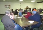 Rev. Nelson and Joyce Johnson speak at St. Peter's