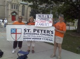 St Peter's Episcopal Church says no to Emergency Management.