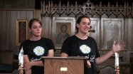 Lydia and Erinn speak on Palestine